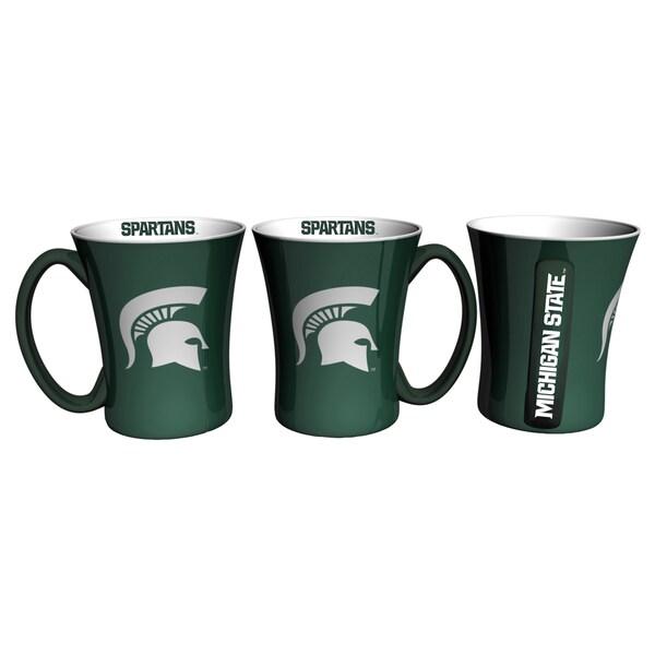 Michigan State Spartans 14-ounce Victory Mug Set