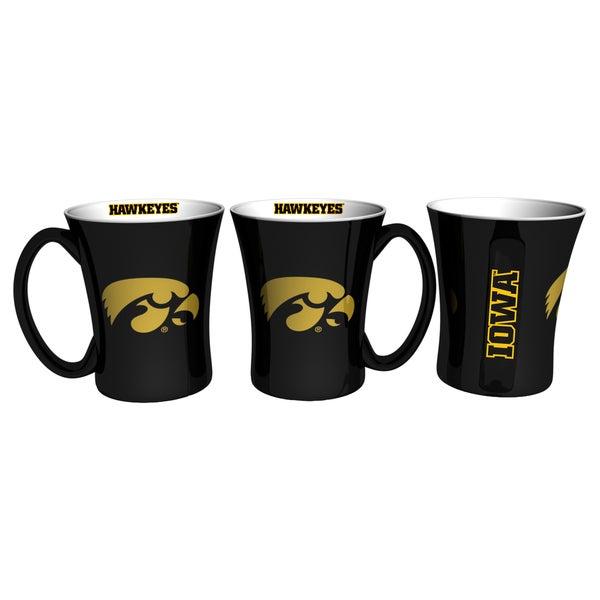 Iowa Hawkeyes 14-ounce Victory Mug Set