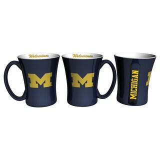 Michigan Wolverines 14-ounce Victory Mug Set