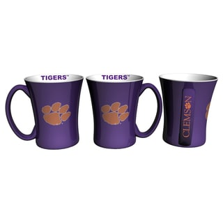 Clemson Tigers 14-ounce Victory Mug Set