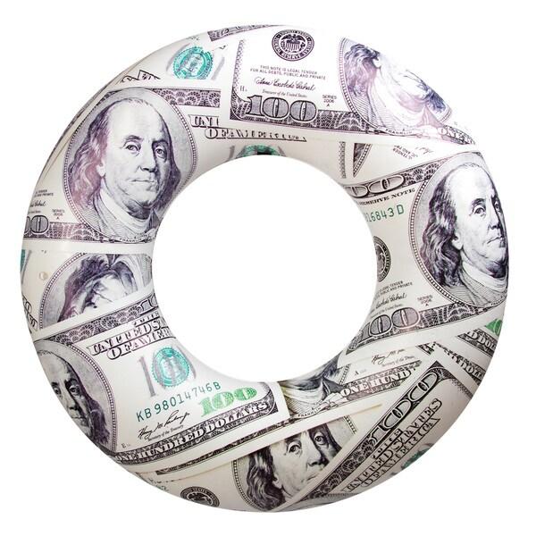 Pool Candy Benjamin's Hundred Dollar Bills Pool Tube