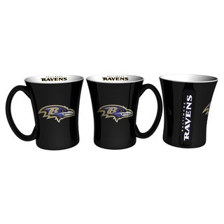 Baltimore Ravens 14-ounce Victory Mug Set