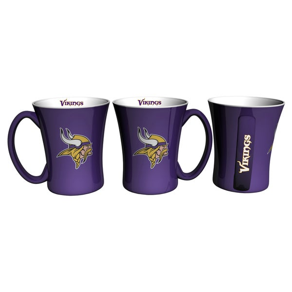Minnesota Vikings 14-ounce Victory Mug Set