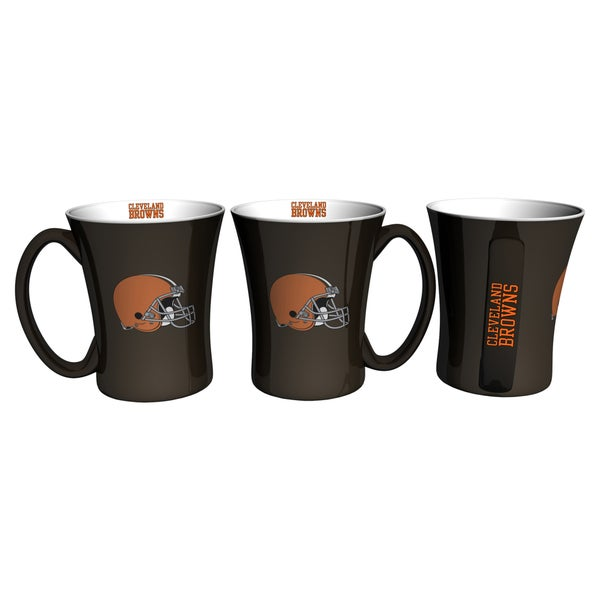 Cleveland Browns 14-ounce Victory Mug Set