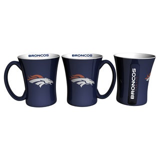 Denver Broncos 14-ounce Victory Mug Set