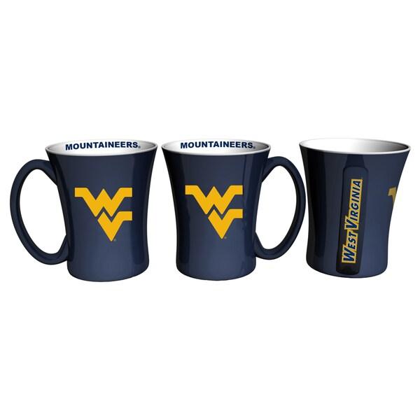West Virginia Mountaineers 14-ounce Victory Mug Set