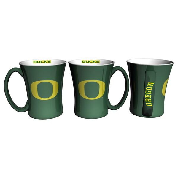 Oregon Ducks 14-ounce Victory Mug Set