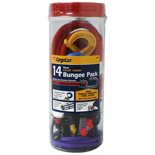 Allied International 84075 Color Coded Bungee Cords Assorted 14 Piece Set