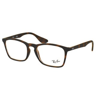 Ray-Ban RX 7045 5365 Havana Rubber Plastic Rectangle 53mm Eyeglasses