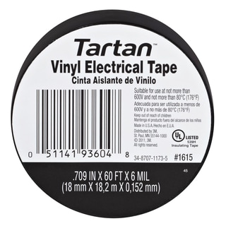 3M 1615 Tartan Vinyl Electrical Tape