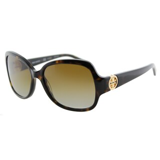 Link to Tory Burch TY 7059 1378T5 Butterfly Dark Tortoise Plastic Square Brown Gradient Lens Sunglasses Similar Items in Women's Sunglasses