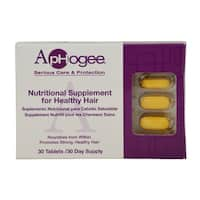 ApHogee Nutirional Supplement for Healthy Hair (30 Tablets)