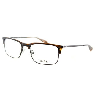 Guess GU 1886 052 Dark Havana Plastic Rectangle 53mm Eyeglasses