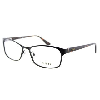 Guess GU 2521 002 Matte Black Metal Cat-Eye 53mm Eyeglasses