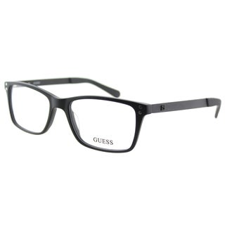 Guess GU 1869 002 Matte Black Plastic Rectangle 53mm Eyeglasses