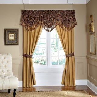 Croscill Regalia Pole Top Curtain Panel Pair