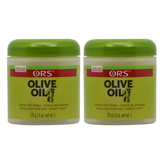 ORS Organic Root Stimulator 6 oz. Olive Oil Creme Hair Dress (Pack of 2)