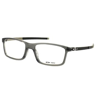 Oakley Pitchman OX8050-0653 Grey Smoke Plastic Rectangle 53mm Eyeglasses