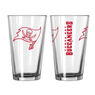 Tampa Bay Buccaneers Game Day Pint Glass 2-Pack