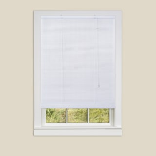 Eclipse White Vinyl Roll-up Blinds