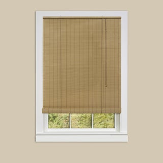 Achim Eclipse Woodtone Vinyl Roll-Up Blind