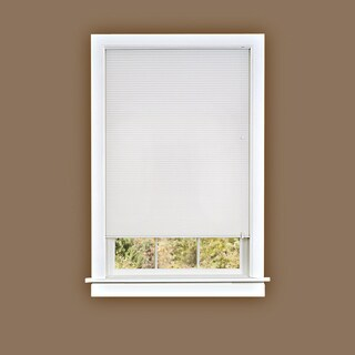 Honeycomb Cellular White Pleated Shade