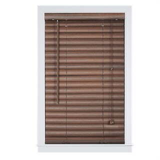 Achim Luna Mahogany 2-inch Vinyl Venetian Blind (More options available)