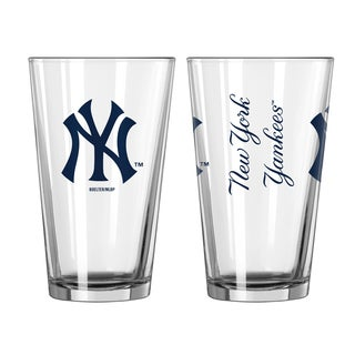 New York Yankees Game Day Pint Glass 2-Pack