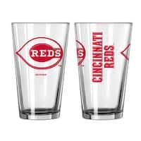 Cincinnati Reds Game Day Pint Glass 2-Pack