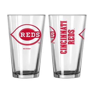 Cincinnati Reds Game Day Pint Glass 2-Pack