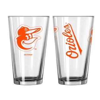 Baltimore Orioles Game Day Pint Glass 2-Pack