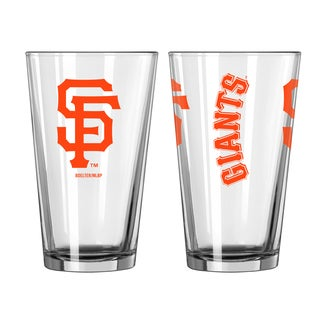 San Francisco Giants Game Day Pint Glass 2-Pack