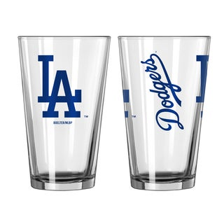 Los Angeles Dodgers Game Day Pint Glass 2-Pack