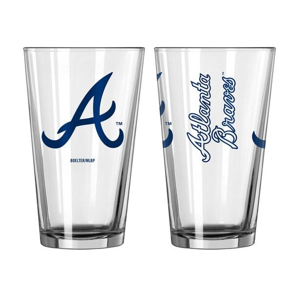 Atlanta Braves Game Day Pint Glass 2-Pack