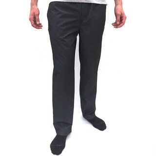Reed Edward Men's Charcoal Cotton-blend Lounge Pants