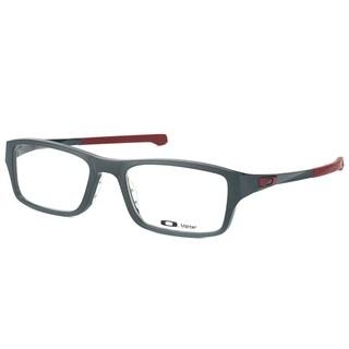 Oakley Chamfer OX8039-0351 Satin Pavement Rectangle 51mm Eyeglasses