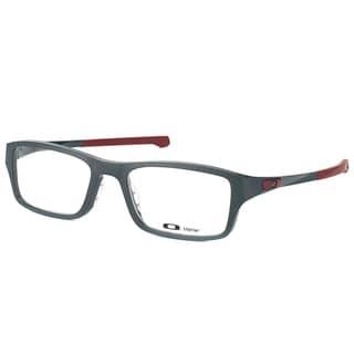 Oakley Chamfer OX8039-0353 Satin Pavement Rectangle 53mm Eyeglasses