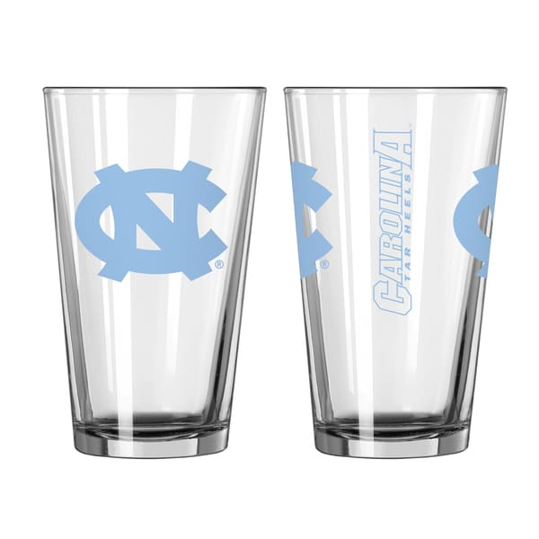 North Carolina Tar Heels Game Day Pint Glass 2-Pack
