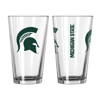 Michigan State Spartans Game Day Pint Glass (Set of 2)