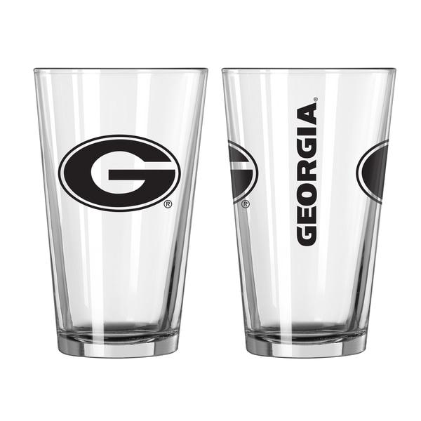 Georgia Bulldogs Game Day Pint Glass 2-Pack