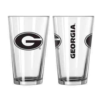 Georgia Bulldogs Game Day Pint Glass 2-Pack