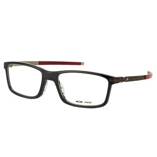 Oakley Pitchman OX8050-0553 Polished Black Plastic Rectangle 53mm Eyeglasses