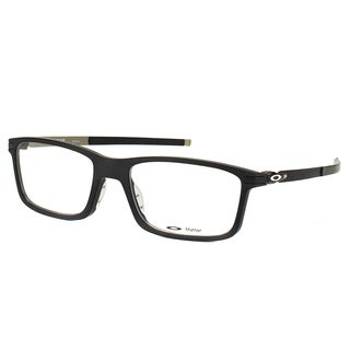 Oakley Pitchman OX8050-0153 Satin Black Plastic Rectangle 53mm Eyeglasses