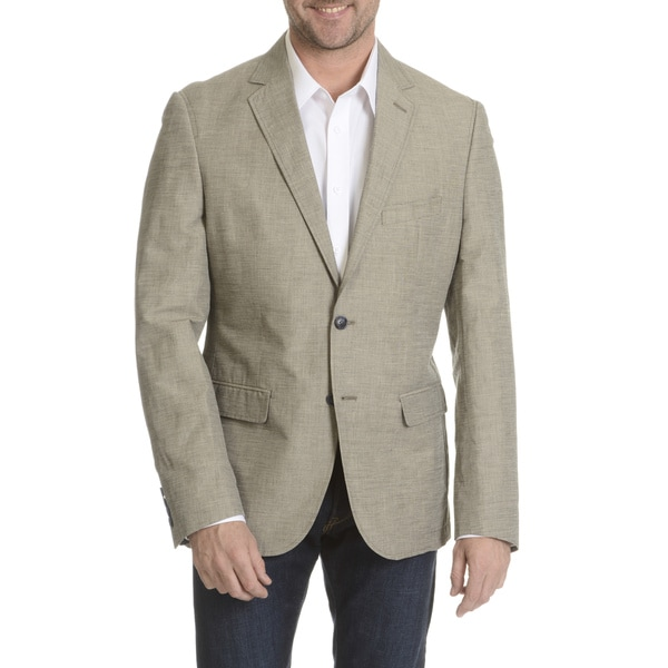 2e744539810e Shop Daniel Hechter Men's Soft Linen Blend Sport Coat - Free ...