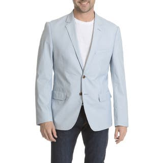 Daniel Hechter Men's Garment-washed Trim-fit Sports Coat (As Is Item)|https://ak1.ostkcdn.com/images/products/11782226/P18693108.jpg?impolicy=medium