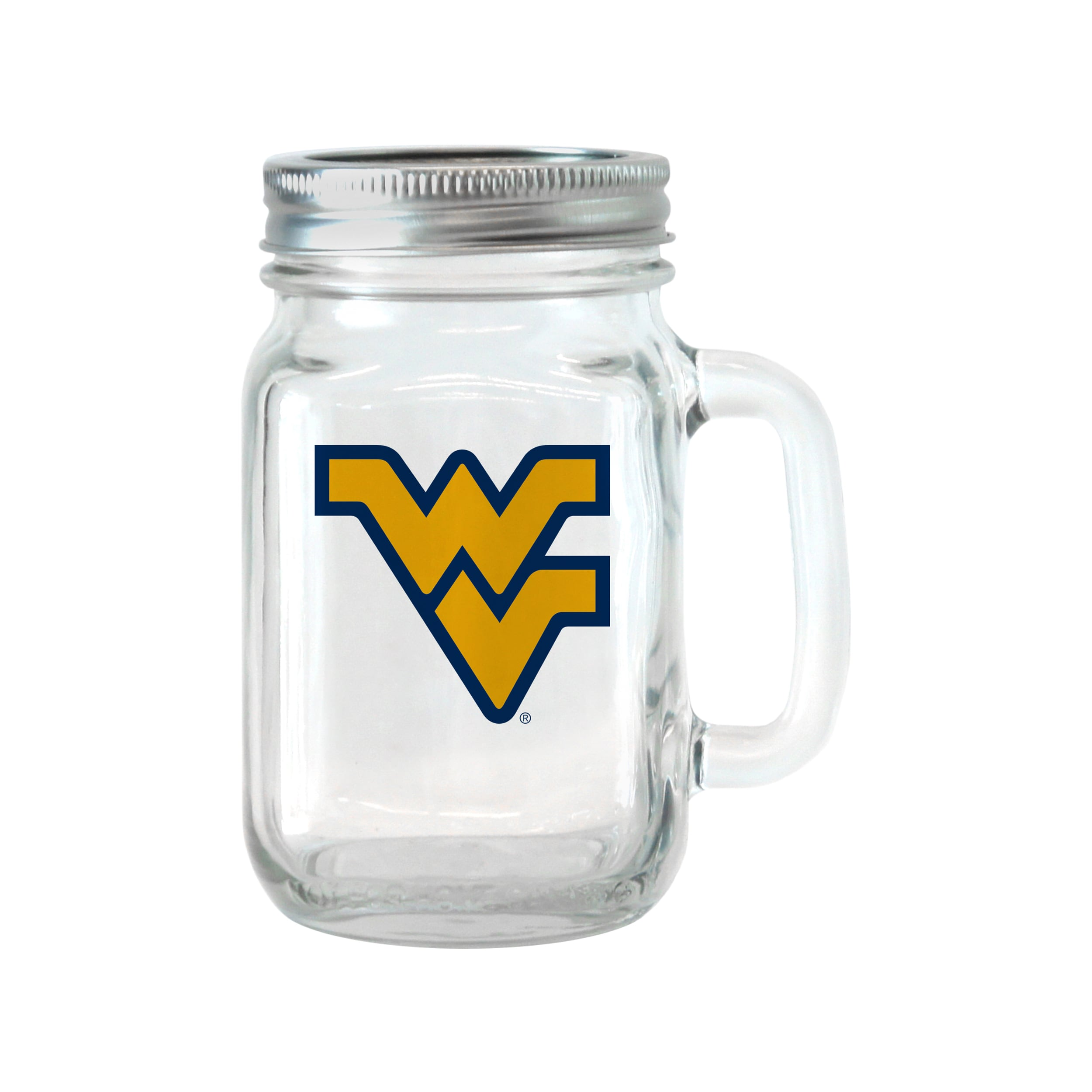 BOELTER BRANDS West Virginia Mountaineers 16-ounce Glass ...