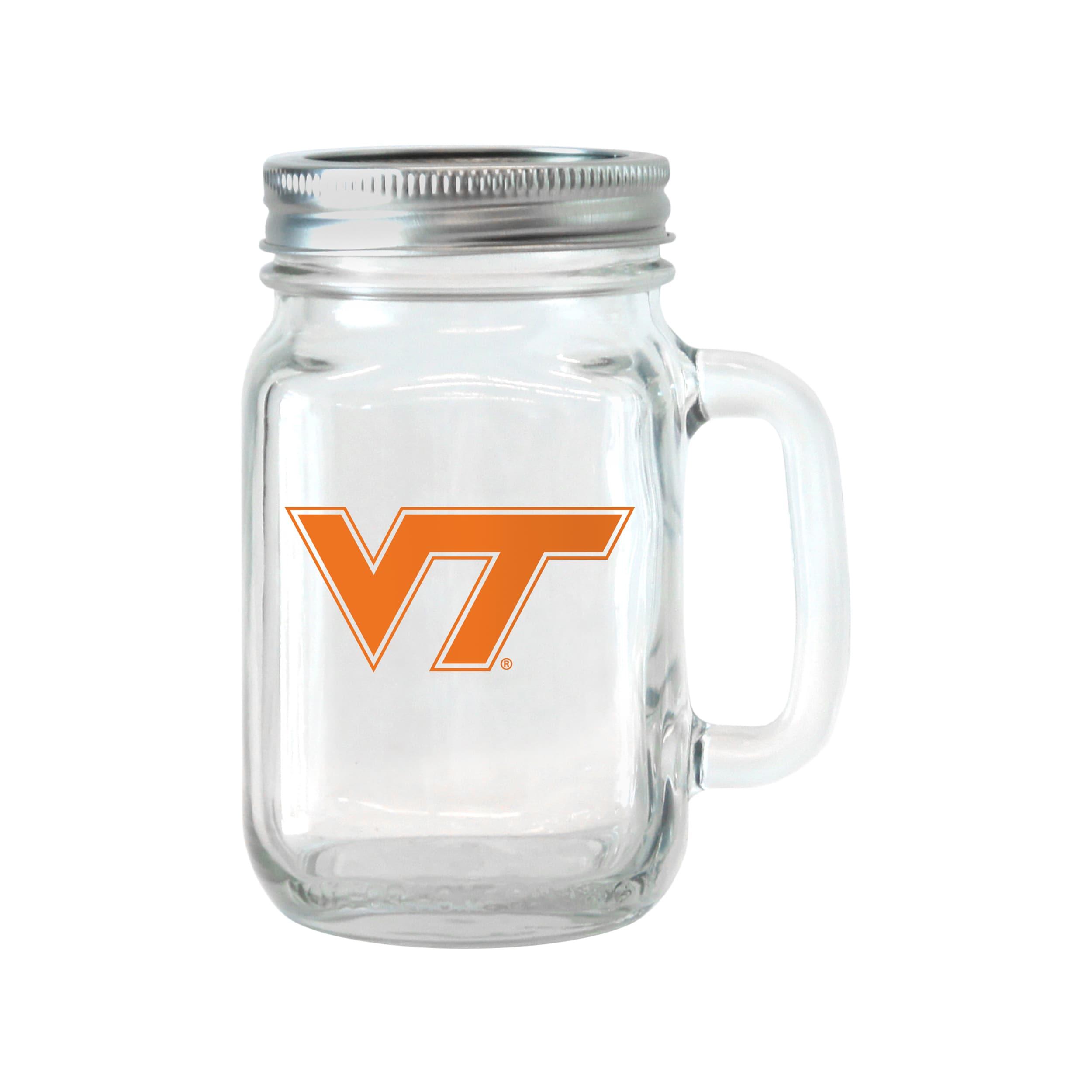 BOELTER BRANDS Virginia Tech Hokies 16-ounce Glass Mason ...