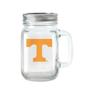 Tennessee Volunteers 16-ounce Glass Mason Jar Set