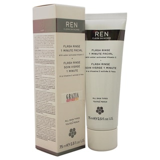 REN 2.5-ounce Flash Rinse 1 Minute Facial