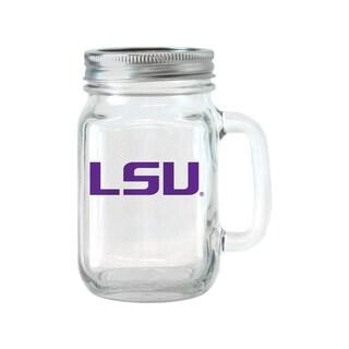 LSU Tigers 16-ounce Glass Mason Jar Set